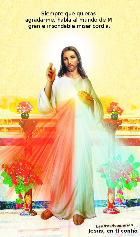 agrada a Dios haciendo que mas se den cuenta de su misericordia