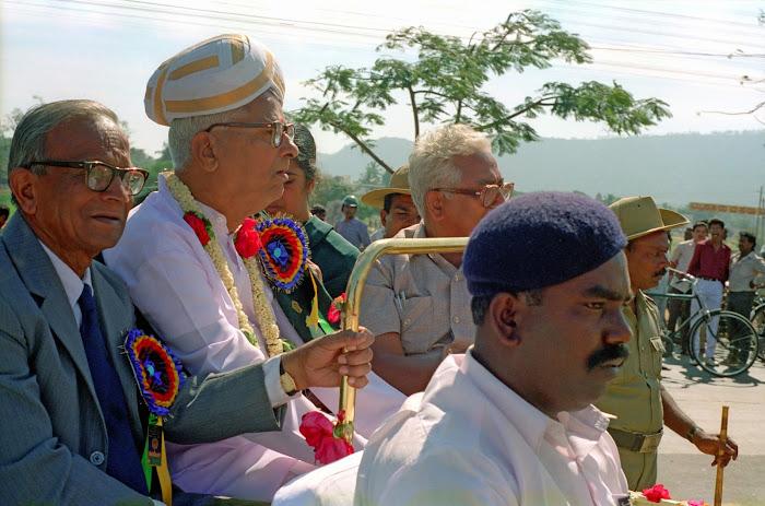 Mysore, Mysuru, Kannada Rajavastava festival, maharaja, © L. Gigout, 1990