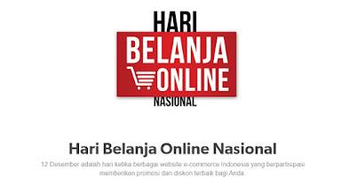 Cara Belanja Online di Hari Belanja Online Nasional