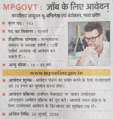 Today Government Jobs