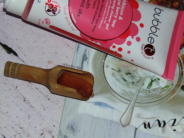 Bubble T Cosmetics, Hibiscus & Acai Berry Tea - żel pod prysznic