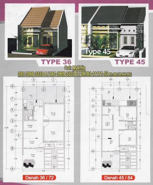 14 Denah Rumah Minimalis Type 45 Terbaru Lingkar Png