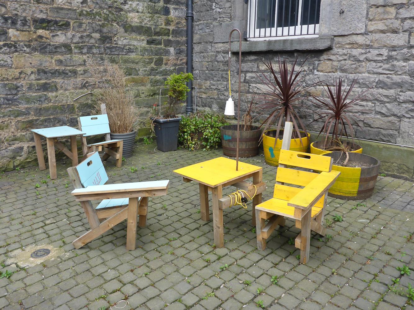 Fenfolio art trail through edinburgh fife for A p furniture trail