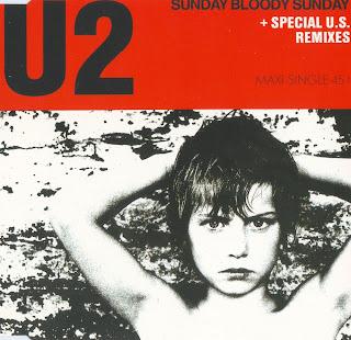 Portada del single Sunday Bloody Sunday de U2