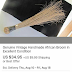 Lol. Ordinary Handmade African broom  sold at $45 on eBay