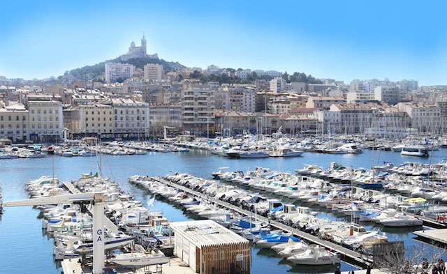 Vieux Port de Marselha