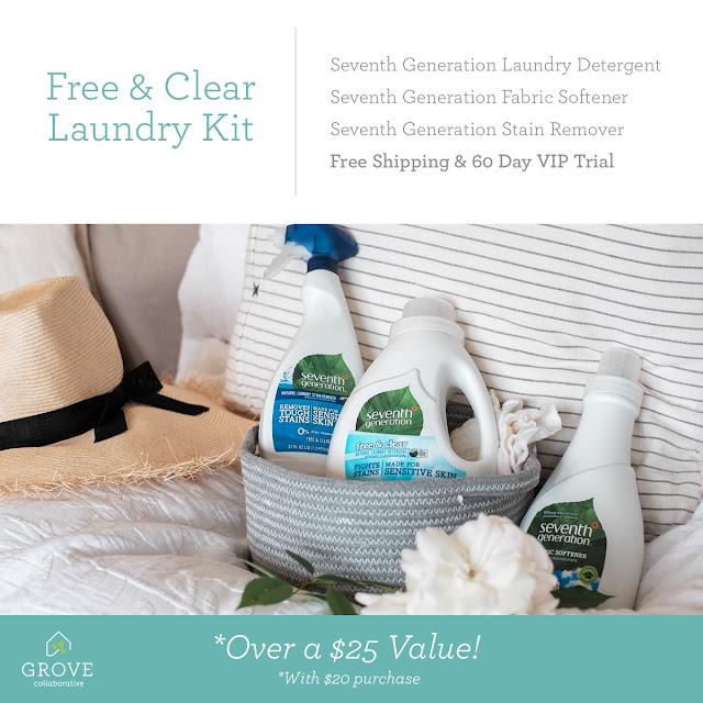 Truly CLEAR  and unscented laundry that's naturally clean!