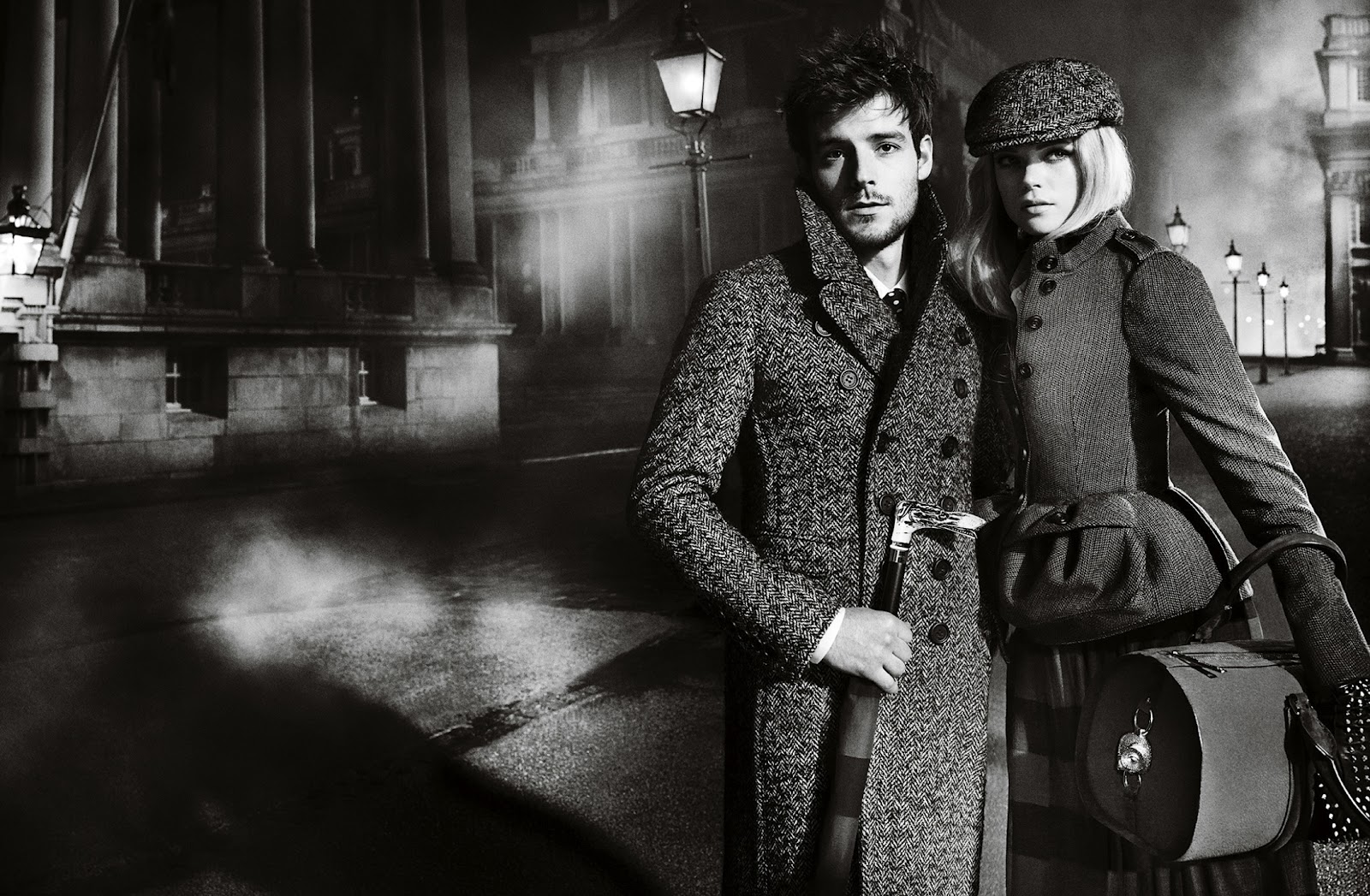 huge selection of 51068 8ba3d Burberry Autumn  Winter 2012 Ad feat.Gabriella Wilde, Roo Panes and Roo  Panes