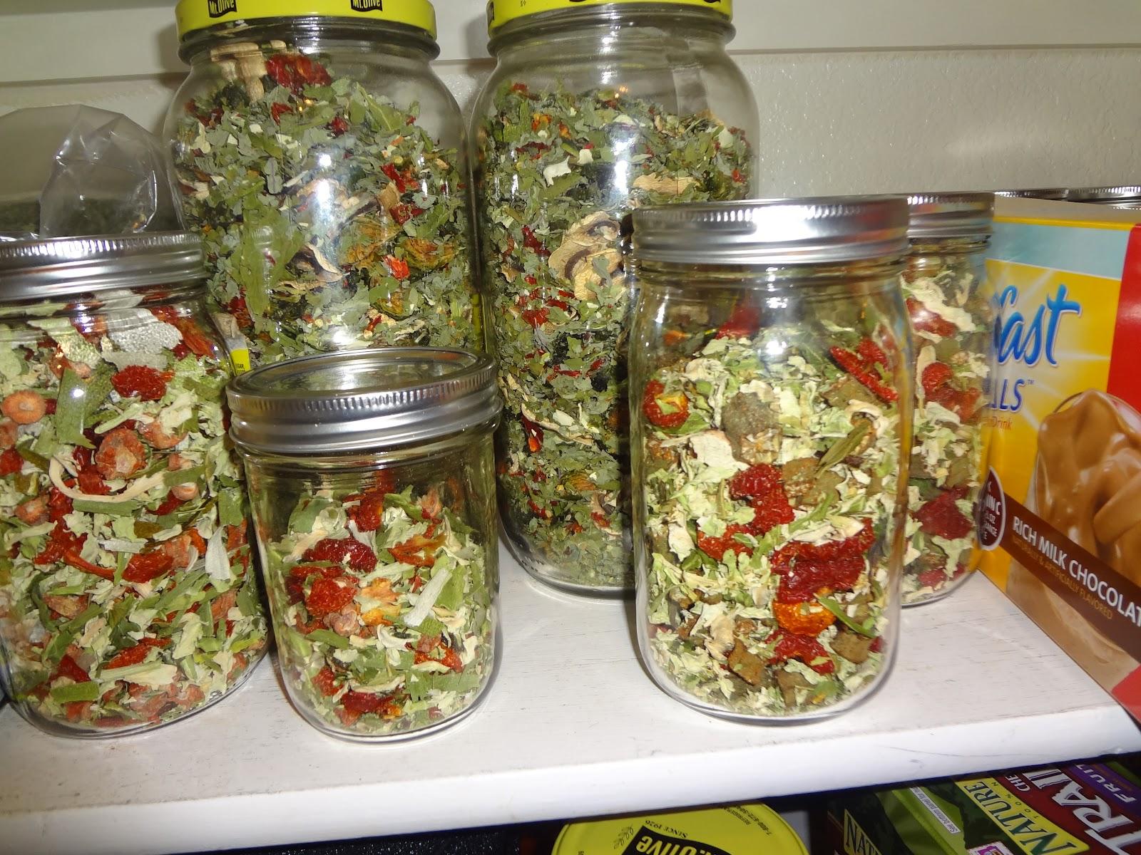 Dry Veggie Soup Mix Recipe Gift