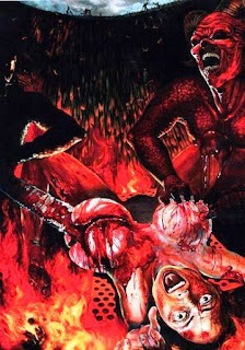 lady torment in hell
