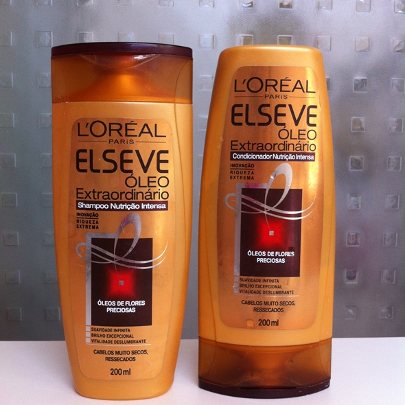 Resenha: Shampoo e Condicionador Óleo Extraordinário Nutrição Intensa | Flores Preciosas - Elseve