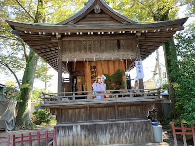 久伊豆神社例大祭里神楽(平成30年9月28日)