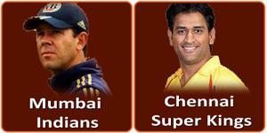 आइपीएल 6 का उननचासवां मैच Wankhede Stadium, Mumbai में होने जा रहा है।