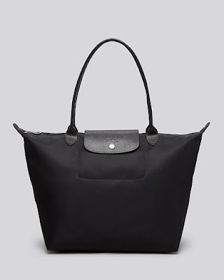 Longchamp Le Pliage Neo Tote in Black