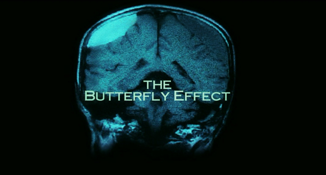 the butterfly effect The butterfly effect is a theory which states that everything in existence is connected and one component cannot help, but affect the entirety of the other components.
