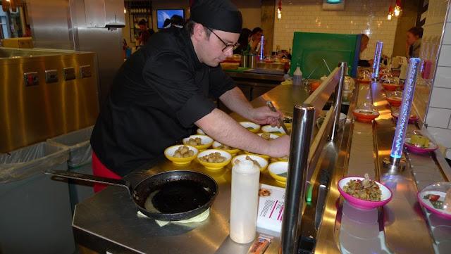 Yo! Sushi expert chefs.