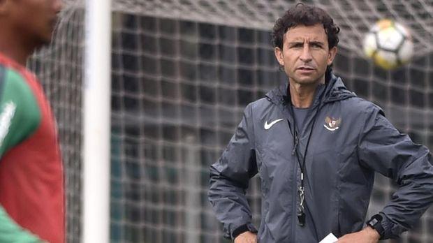 Pelatih Luis Milla Diam-Diam Pantau Perjuangan Timnas Muda U-22 2019