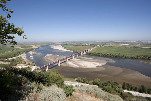 Santarem-Vista sul rio Tejo