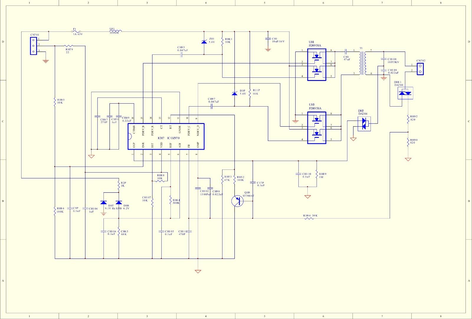 Master Electronics Repair    Daewoo Dpc0720