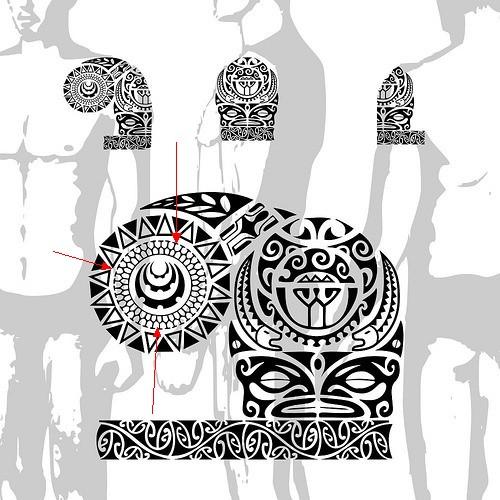 30 Gambar Desain Tato Tribal Terpopuler Tattoo Magz