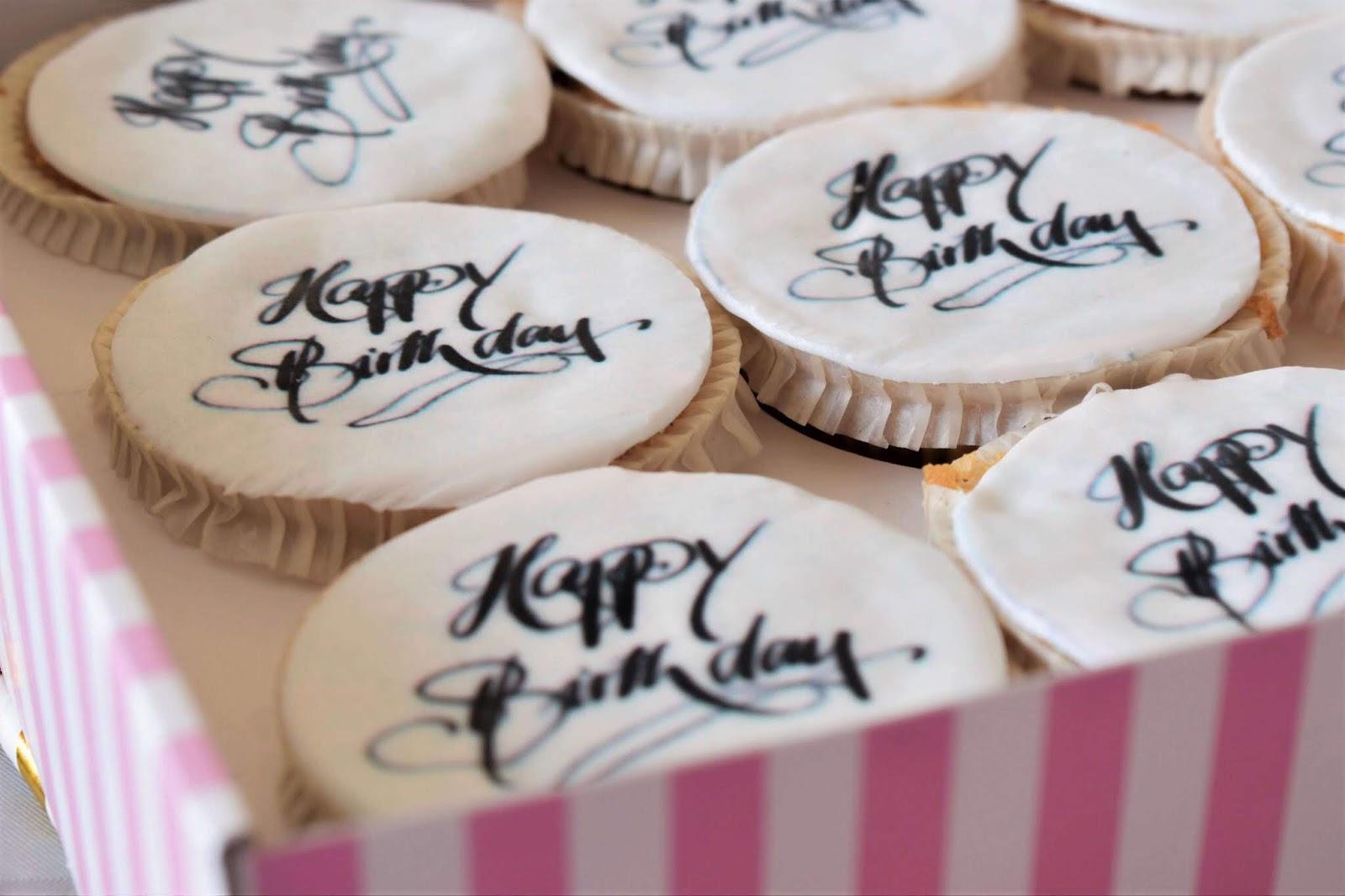 #BIRTHDAY | MON GÂTEAU D'ANNIVERSAIRE ALT CUPCAKES VOTREGATEAU.FR