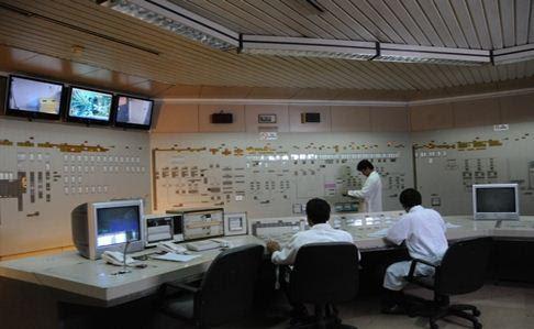 Ruang kendali utama nuklir