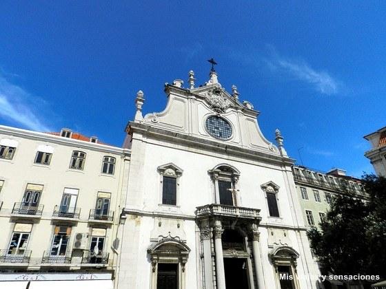 Iglesia de Sao Domingo, Barrio de la Baixa, Lisboa, Portugal