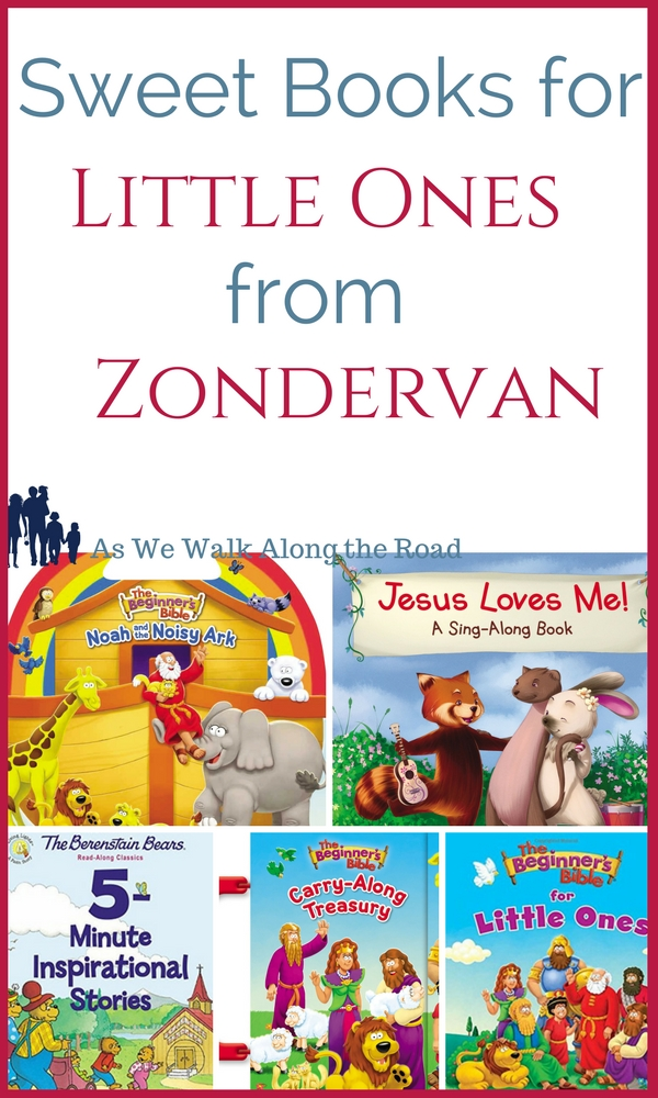 Zondervan books for little ones