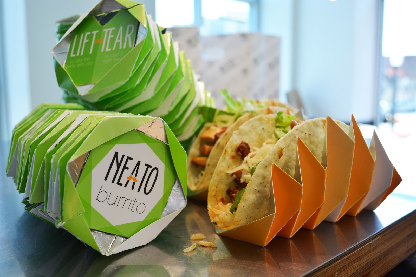 Neato Burrito Student Project On Packaging Of The World