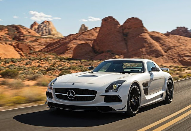 2014 Mercedes-Benz SLS AMG Black Series Front Angel