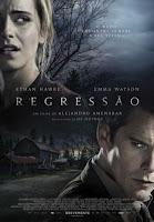 "Cinema: Filme ""Regressão""  com Emma Watson e Ethan Hawke"