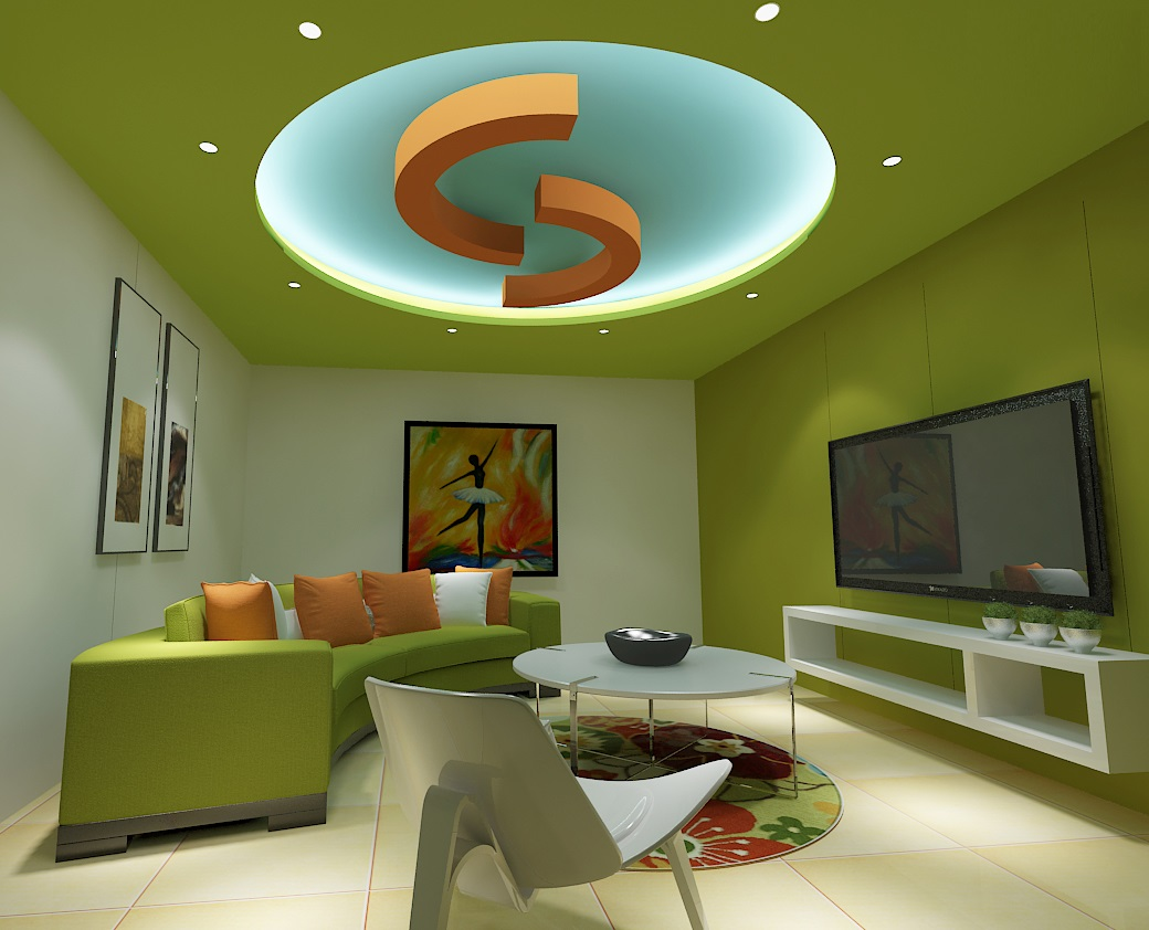 Plaster designs for living room false ceiling for Plaster of paris ceiling designs for living room