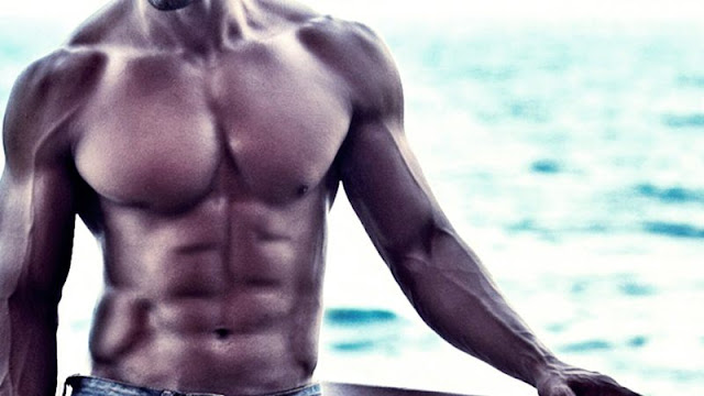 Lose Fat and Gain Muscle at the Same Time, Indian Body Fit Muscular Guy