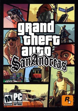 GTA San Andreas PC Game Cover