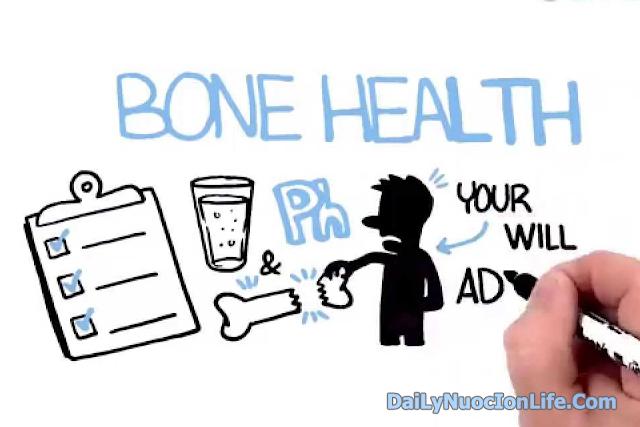 Nước ion alkaline đối với sự hình thành xương