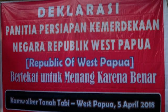 Panitia Persiapan Kemerdekaan West Papua Telah Dideklarasikan