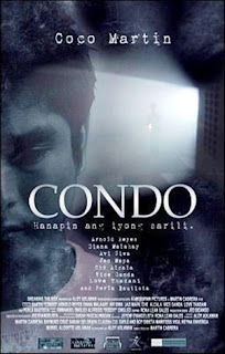 Condo is an independent movie directed by Martin Cabrera which stars the critically acclaimed and tagged as indie cinemas matinee idol Coco Martin.