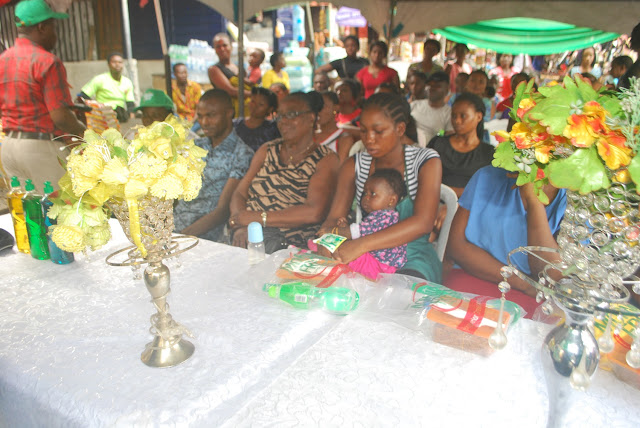 Mercy Johnson joins Morning Fresh in Port Harcourt for Market Storm Activity