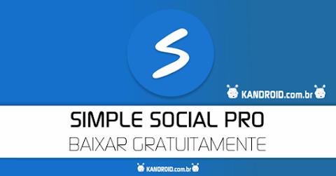 Simple Social PRO 6.9.0b APK com Messenger Integrado