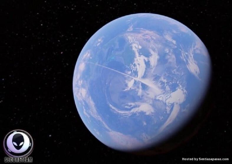 Pemburu UFO Temui Garisan Misteri Merentasi Bumi