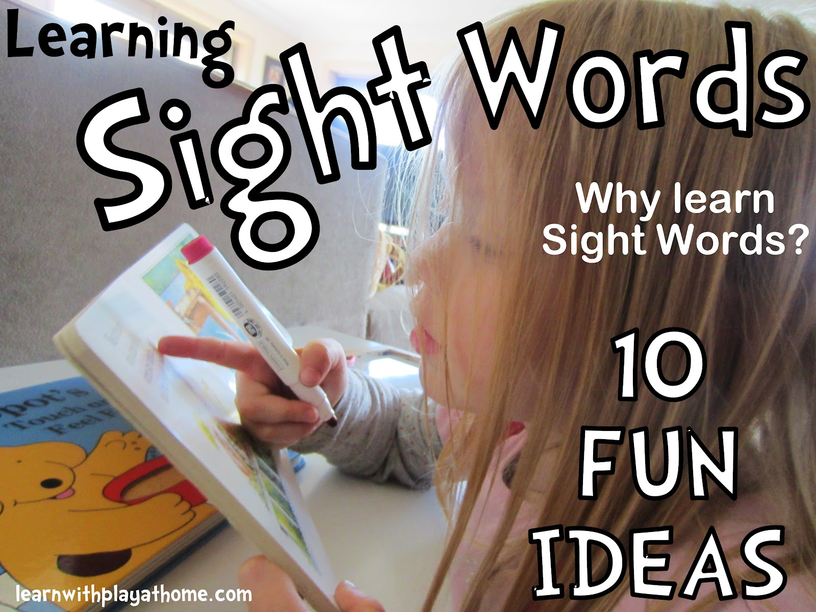 Learn With Play At Home Learning Sight Words 10 Fun Ideas