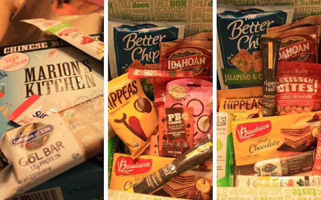 Foodie goodies to try out from Degustabox a monthly foodie fun box