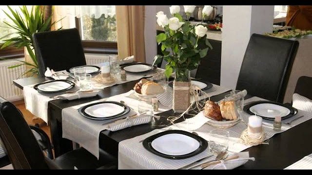 Simple Elegant Decor for Dining Table