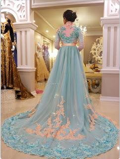 Gaun Kebaya Mewah Elegan