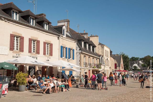 Auray viaje Bretaña Normandia turismo