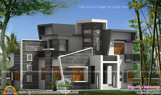 Modern style unique home