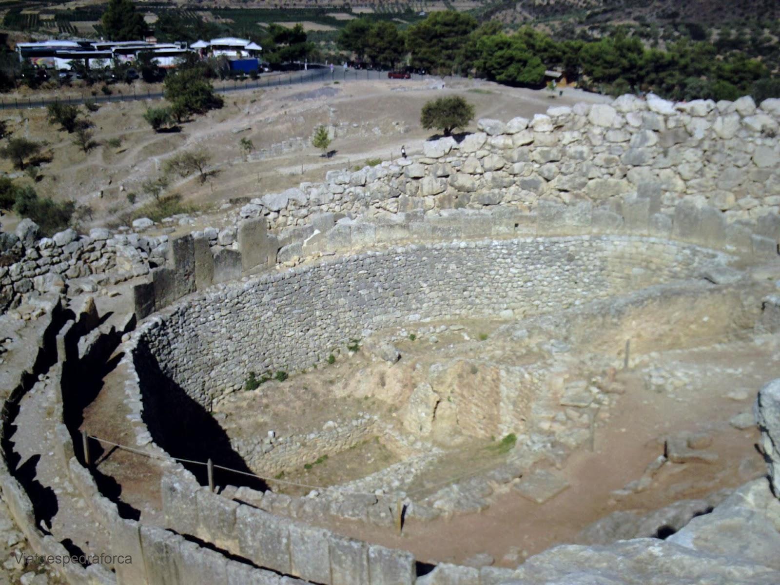 Micenes, Tombes del Cercle A, Grècia, Peloponès, Civilització Micènica
