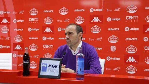 """Eloy Jiménez - Lugo -: """"El Málaga es un equipo atrevido"""""""
