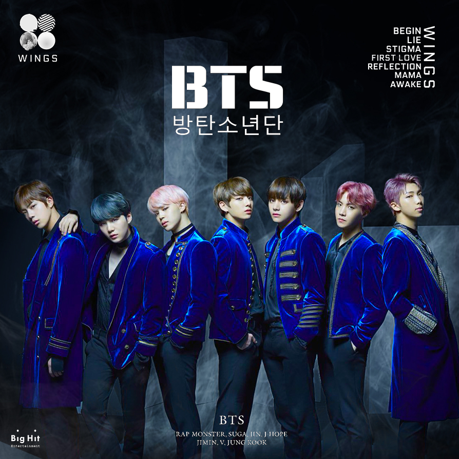 Loving Music : BTS - Blood Sweat & Tears Lyrics