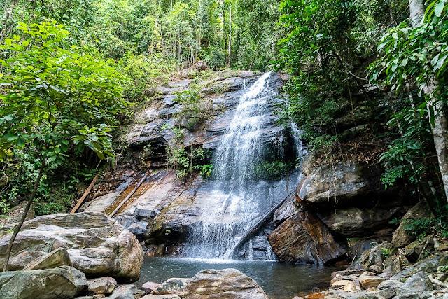Bigaho Falls-Port Barton-Palawan-Philippines